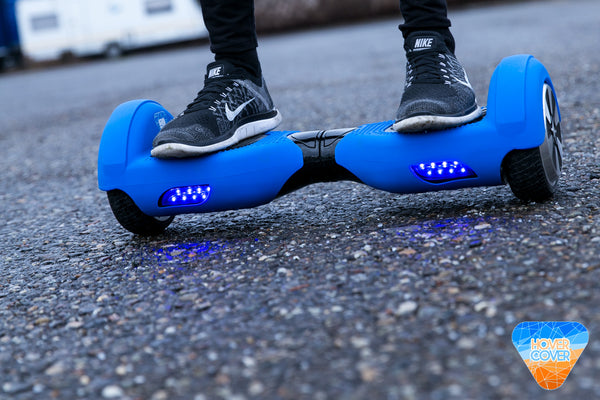 Silicone Hoverboard Protective Case Blue Hover Cover