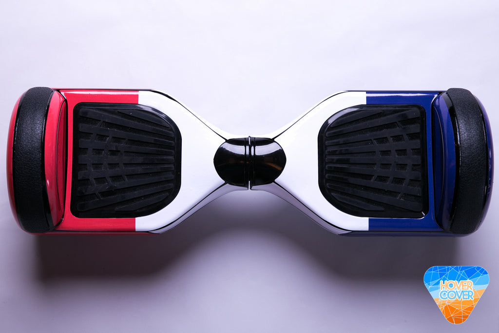 French Flag hoverboard custom stickers vinyl wraps decal