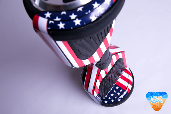 American Flag hoverboard custom stickers vinyl wraps decal