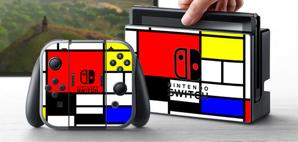 PRE-ORDER Nintendo Switch Skin  Custom Vinyl Wrap Decal Sticker