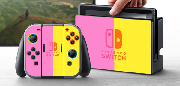 Nintendo Switch Skin Custom Vinyl Wrap Decal Sticker NES Classic