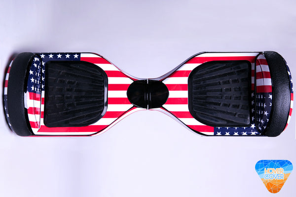 AMERICAN FLAG hoverboard custom vinyl wrap skin decal sticker
