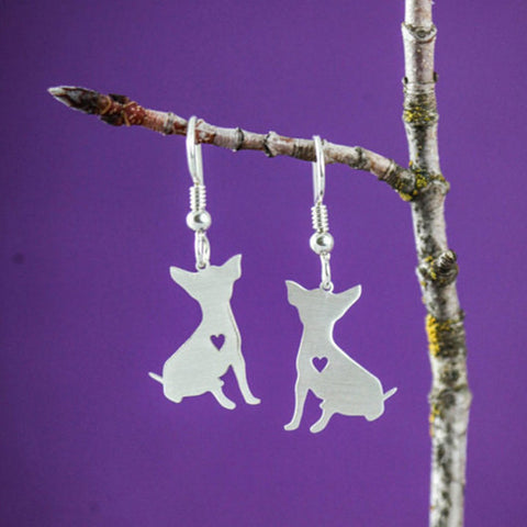 Chihuahua Drop Earrings
