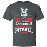 Your Ignorance...LIMITED Pit Bull T-shirt