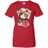 Vintage Pit Bull Women's T-Shirt - The Definition of Cool