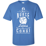 This Nurse Loves Her Corgi - T-Shirt