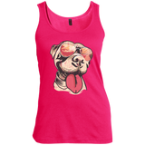 Vintage Pit Bull - The Definition Of Cool! (Women's Tank)
