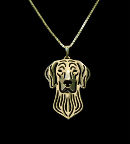 Weimaraner Outline Necklace