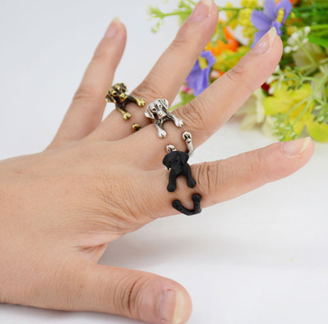 "Labrador Ring - Adjustable ""Hug Me"" Design"
