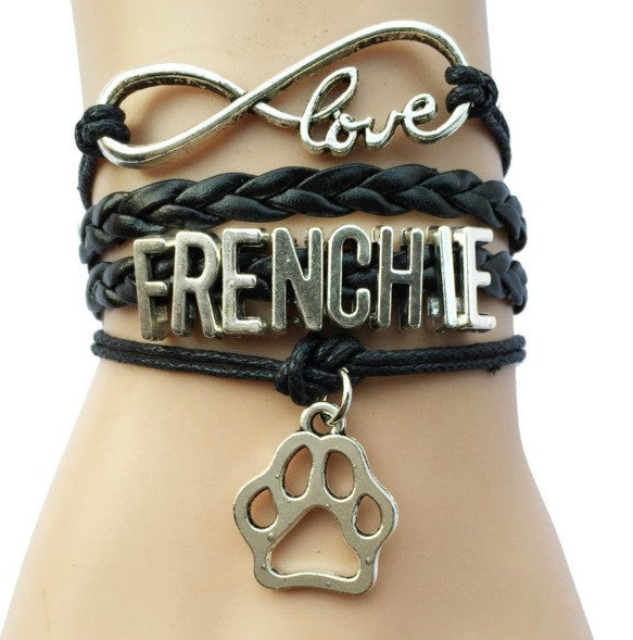 Frenchie Love Bracelet