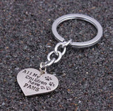 All My Children Have Paws Keychain