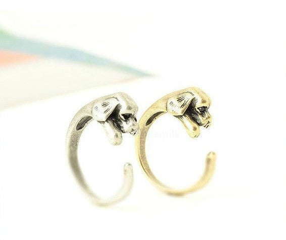 "Puppy ""Hug Me"" Rings"