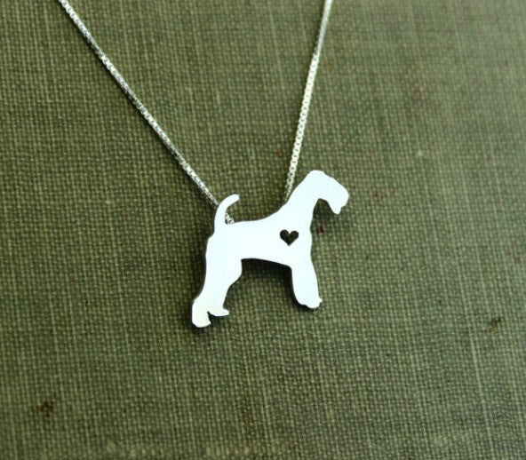 Jewelry - Airedale Terrier Statement Necklace