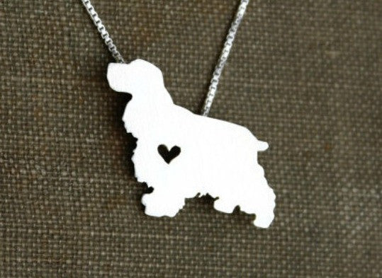 Jewelry - Cocker Spaniel Statement Necklace