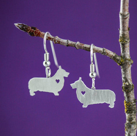 Jewelry - Corgi Drop Earrings