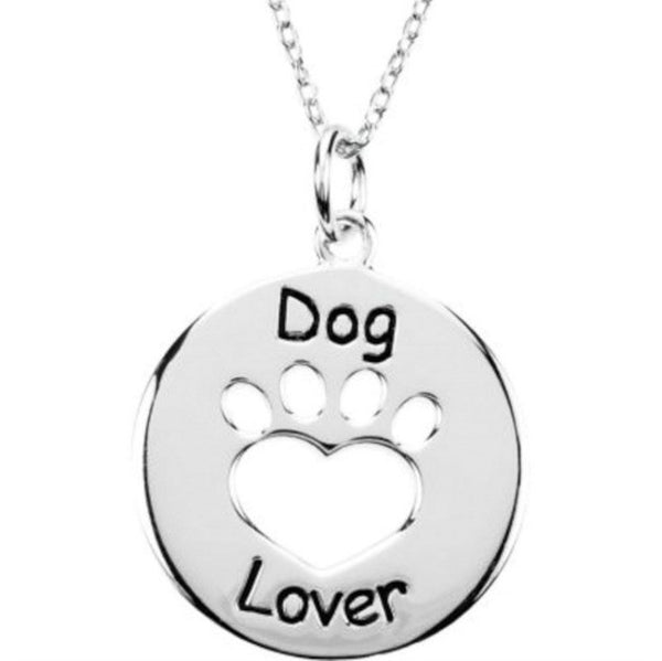 "Jewelry - ""Dog Lover"" Necklace"