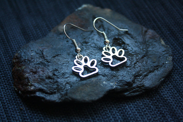 Jewelry - Dog Paw Print Earrings