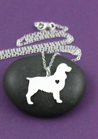 Jewelry - English Springer Spaniel Necklace