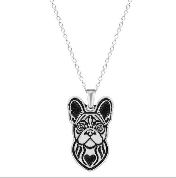 Jewelry - French Bulldog Profile Necklace