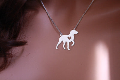 Jewelry - German Shorthaired Pointer Statement Necklace