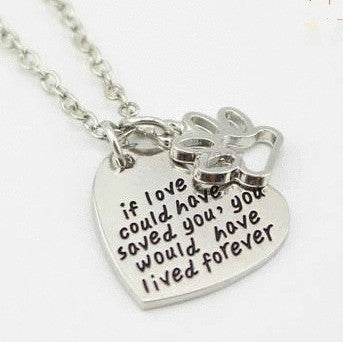 Jewelry - If Love Could Have Saved You Necklace