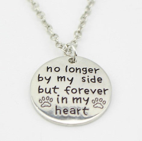 "Jewelry - ""No Longer By My Side"" Necklace"