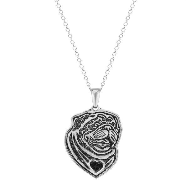 Jewelry - Pug Profile Necklace