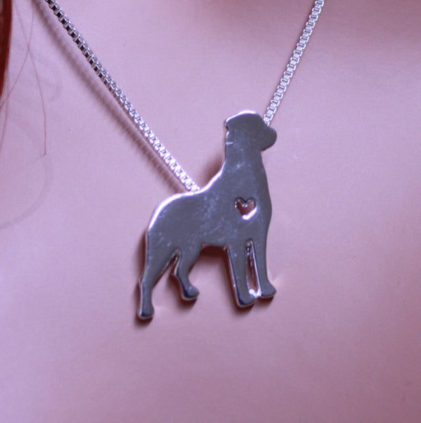 Jewelry - Rottweiler Front Pendant Necklace
