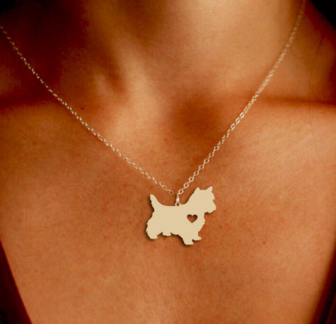 Jewelry - Westie Pendant Necklace - Gold Or Silver