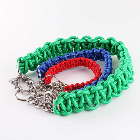Para-cord Braided Dog Collar