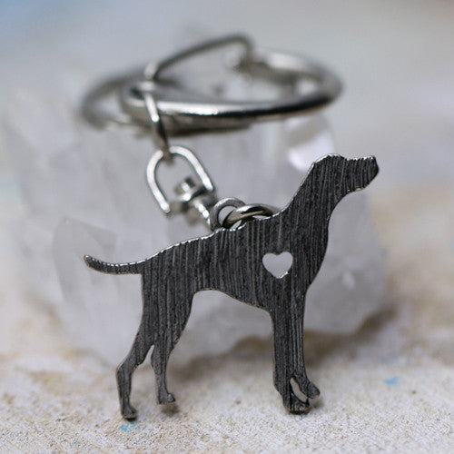 German Short Haired Pointer Keychain