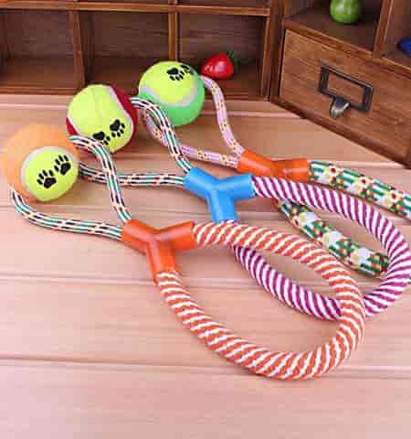 Durable Rope & Ball Dog Toy