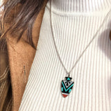 Zuni Arrowhead Necklace