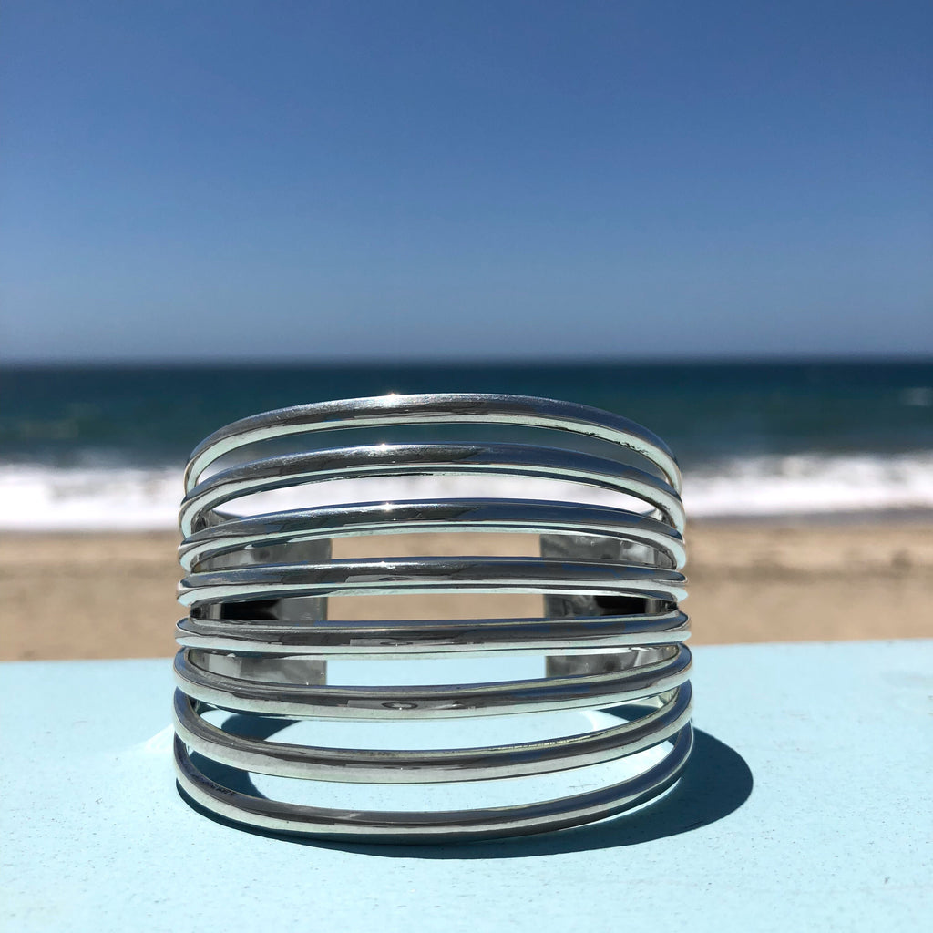 Heavy Split Band Bracelet<br>By Jennifer Curtis