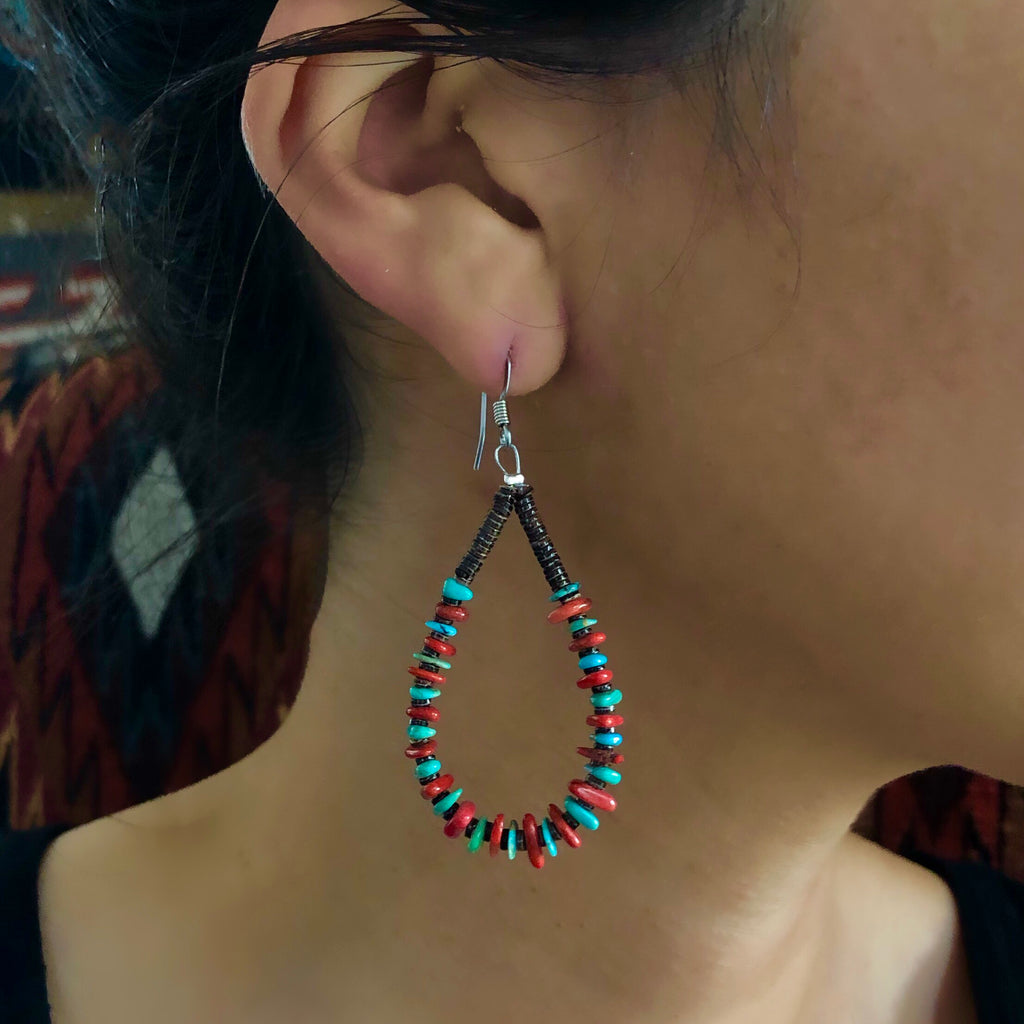 Festive Hoops<br>By Jeanette Calabaza