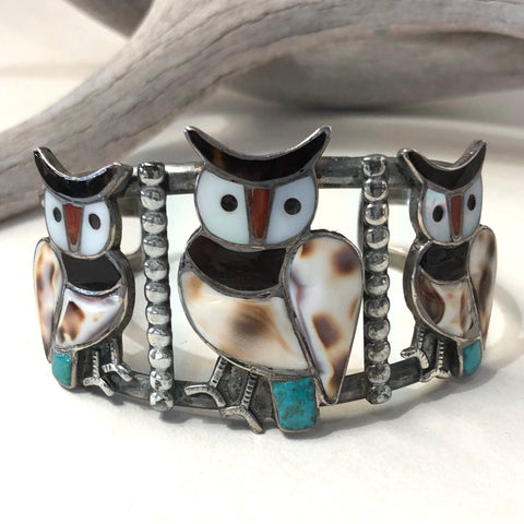 Three Owl Bracelet