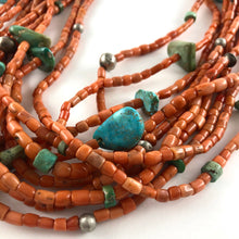 Load image into Gallery viewer, Ten Strand Coral Necklace