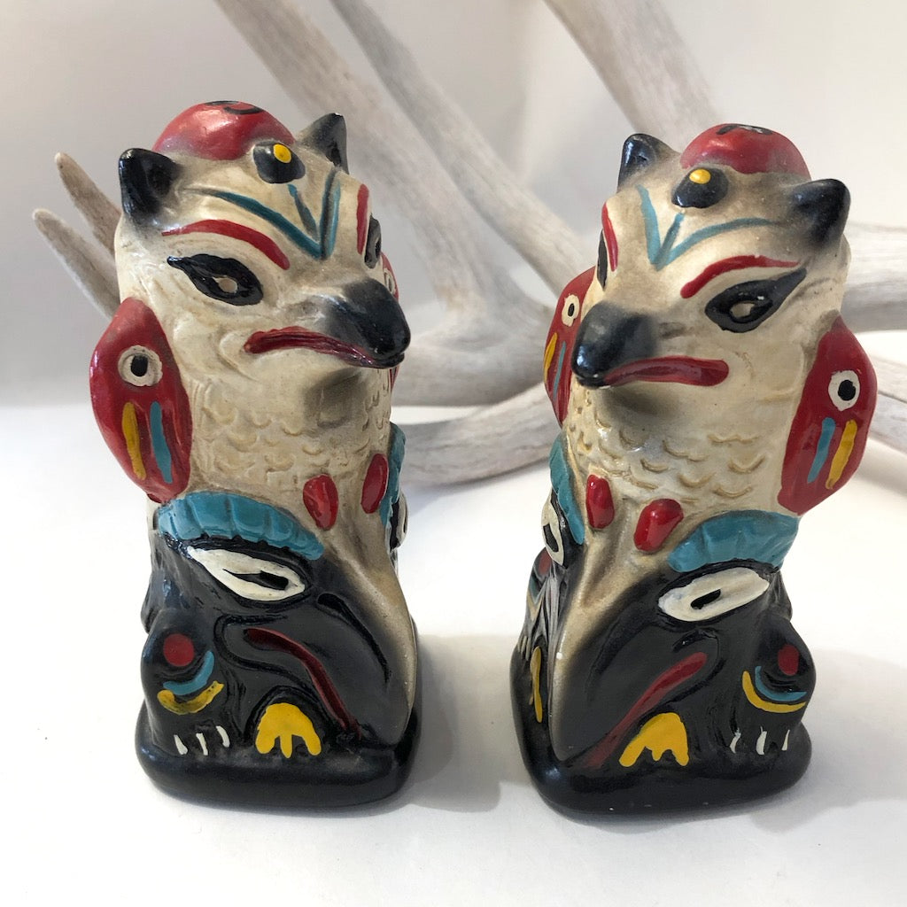 1950's Totem Pole Salt & Pepper