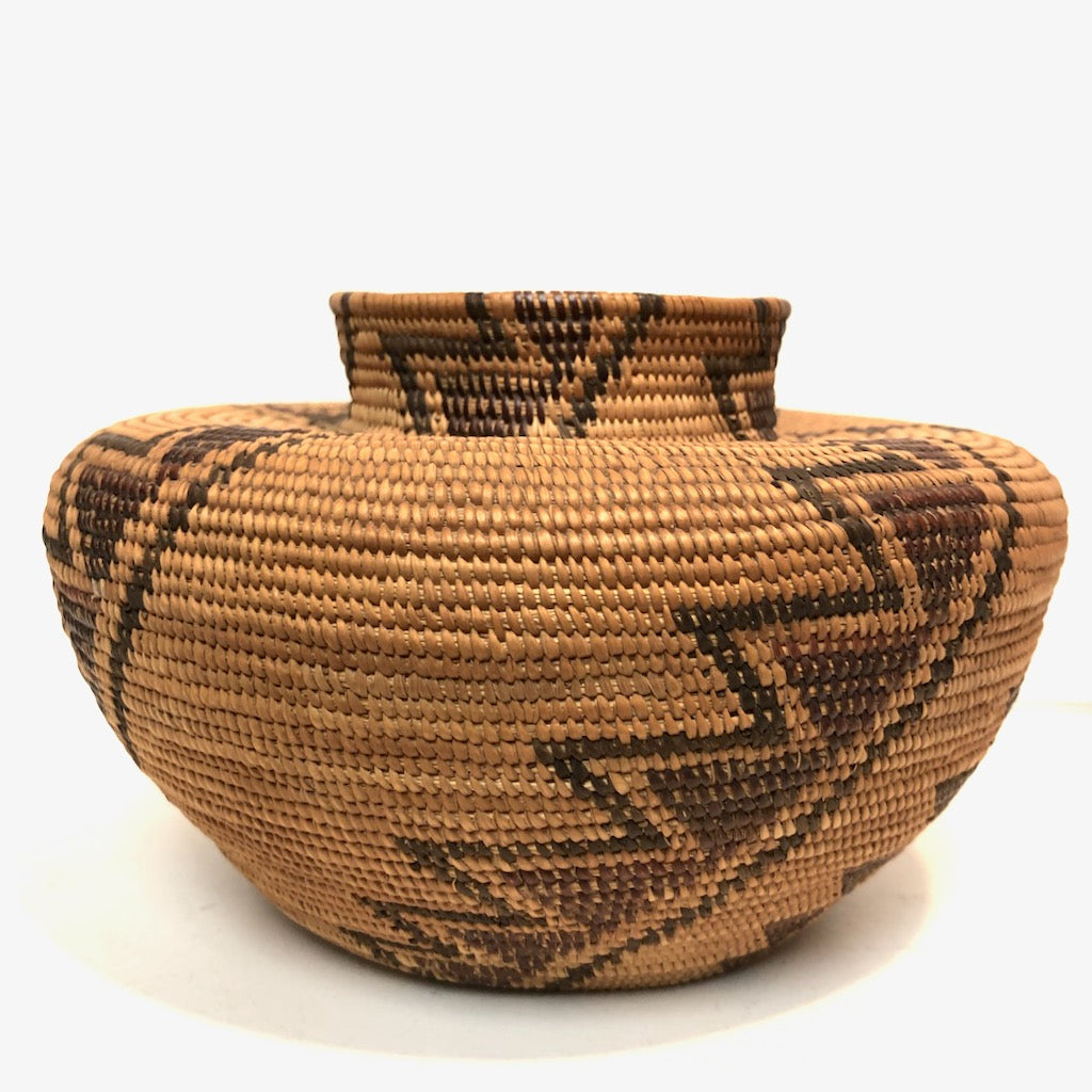 Yokuts Bottle Neck Basket