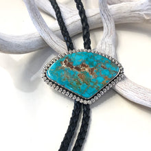 Load image into Gallery viewer, Single Stone Vintage Bolo Tie