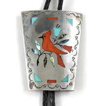 Load image into Gallery viewer, Cardinal Bolo Tie<br>By Jake Livingston
