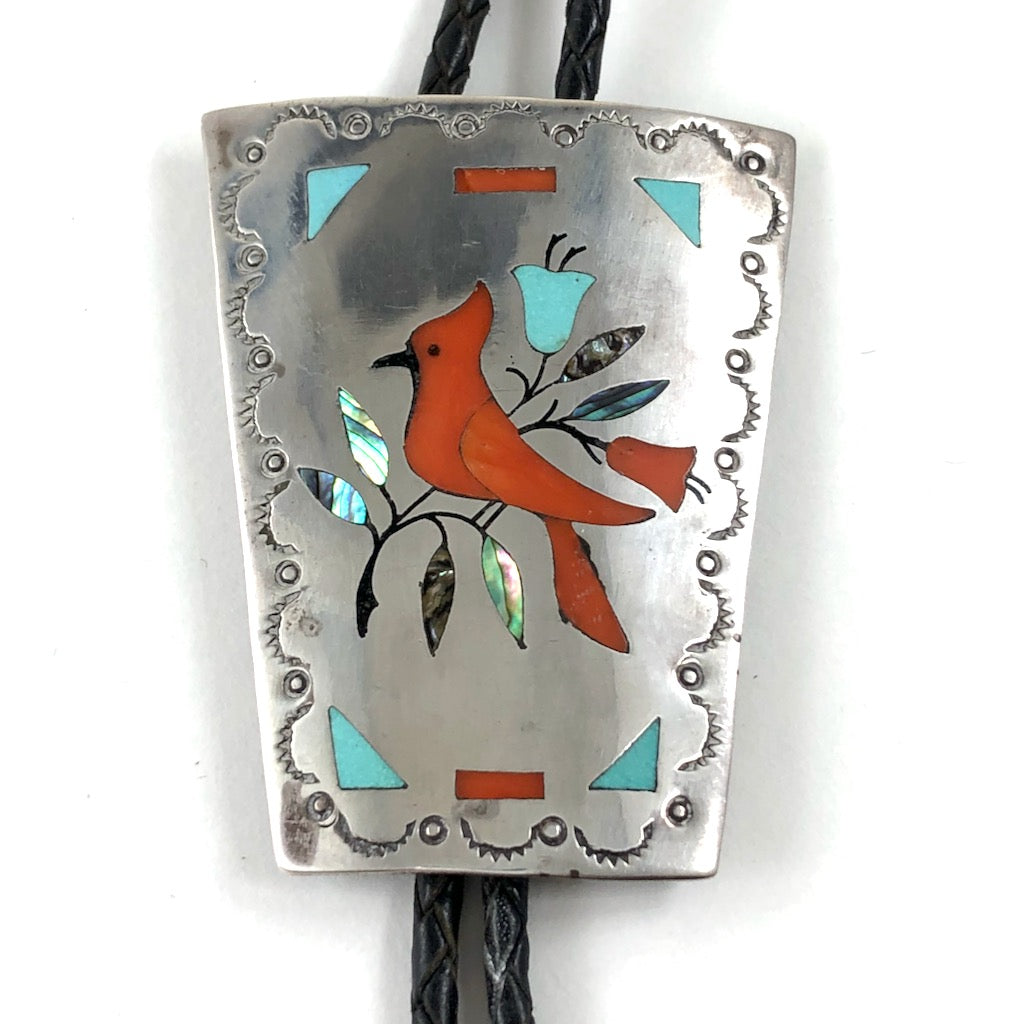 Cardinal Bolo Tie<br>By Jake Livingston