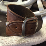 Old Concho On New Leather