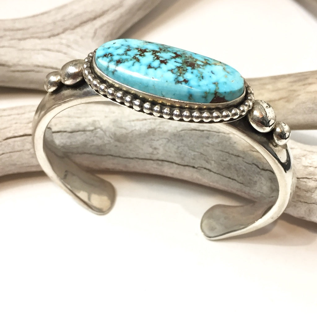 Kingman Turquoise By Albert Lee