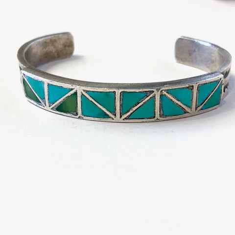 Vintage Zuni Channel Inlay