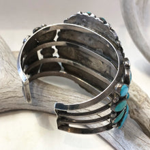 Load image into Gallery viewer, Vintage Navajo Cluster Bracelet