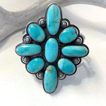 Load image into Gallery viewer, Kingman Turquoise Bracelet<br>By Everett & Mary Teller