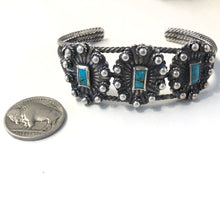 Load image into Gallery viewer, Small Vintage Concho Bracelet
