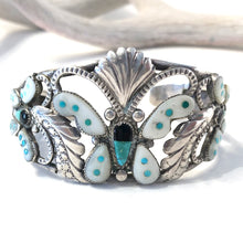 Load image into Gallery viewer, Vintage Zuni Butterfly Bracelet
