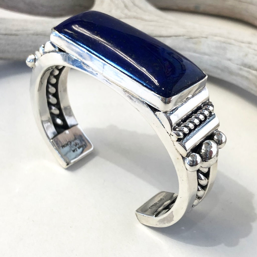 Lapis Bracelet<br>By Albert Lee